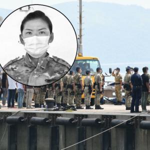 【香港最新情報】「密輸船があて逃げ、女性指揮官が殉職」