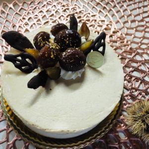 栗 三昧の大人のケーキ
