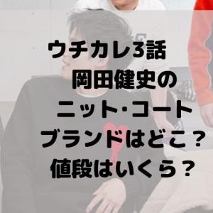 ウチカレ3話で岡田健史が着ているニットやコートを調査!ブランドはどこで値段はいくら?