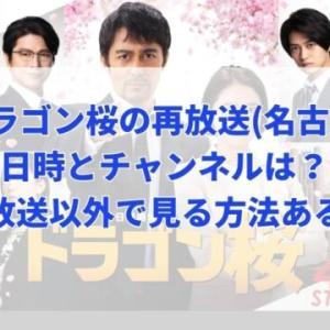 ドラゴン桜の再放送(名古屋)の日時はいつでチャンネルはどこ?他に見る方法はある?