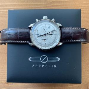 愛用中のおすすめ腕時計とその魅力 ZEPPELIN(ツェッペリン)100周年記念モデル 7680-1