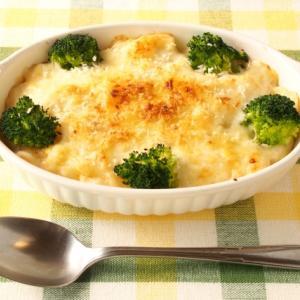 ブロッコリーと舞茸のマカロニグラタンのレシピ