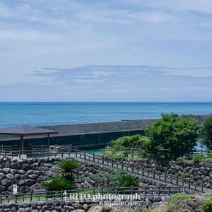 高知県安芸市下山にある恋人の聖地 「大山岬」へ。青い空と海が一望できる絶景ポイントでした!