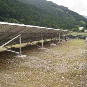 太陽光発電施設の草刈り