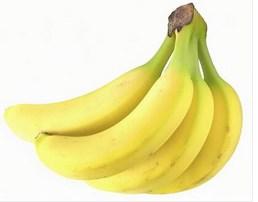 バナナを食べて節約中