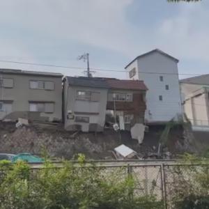 【国内ニュース・動画】大阪西成で建物が崩壊・崩落。けが人なし。