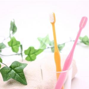 コロナ禍の外での歯磨き