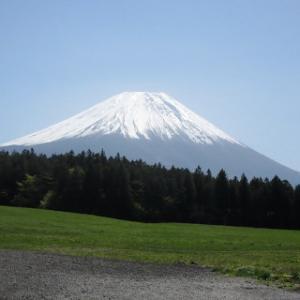 朝霧高原からの富士