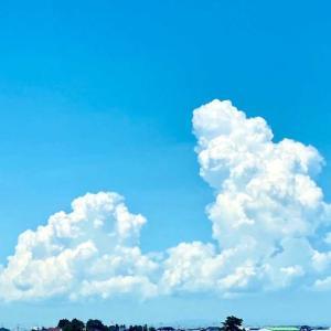夏の雲の写真撮れたよ