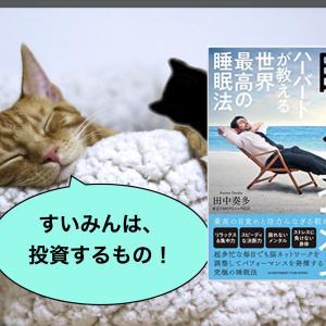 【これだけ抑えとけばOK!】『眠る投資』(著者:田中奏多)要点をお伝えします!