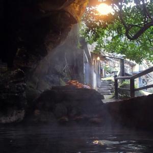 【温泉レポート】壁から湯が沸く温泉「壁湯温泉・福元屋/大分」
