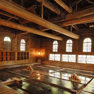 【温泉レポート】湯船の底からお湯が湧く温泉「法師温泉 長寿館」(群馬)