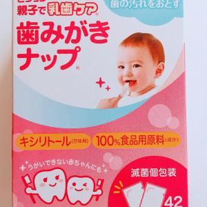 VS 長女1歳の歯磨き