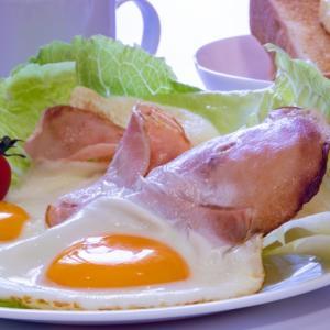【男の簡単料理】これぞ男の簡単朝ごはん。茶色です。とにかく茶色です。でも、おいしいです!