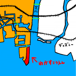うささんぽvol.4ex2(江東区の四神を求めて)