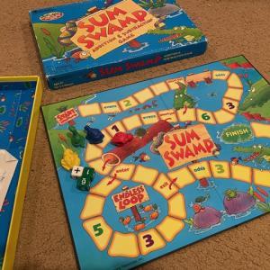 算数ボードゲーム「Sum Swamp 」
