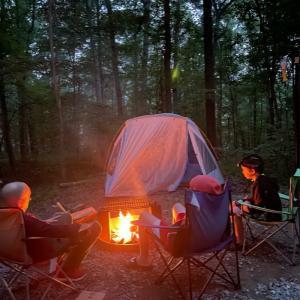 10年ぶりのキャンプday1