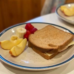 アメリカの中学校の調理実習