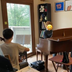 ピアノ・チェロ・バイオリン進捗記録 9/20 - 9/25 +恥ずかしい私の英語力