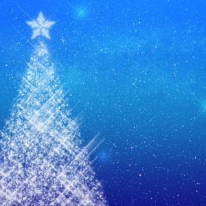 冬至祭とクリスマスツリー