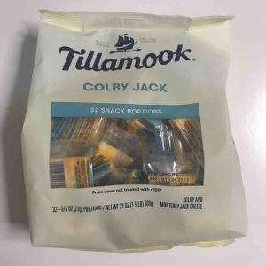コストコ初購入のTILLAMOOK個包装コルビージャックチーズは痩せるおかずにもおすすめです!