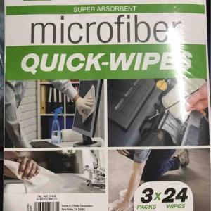 コストコ新商品のマイクロファイバークイックワイプスが使いやすい!ただいま値下がり中