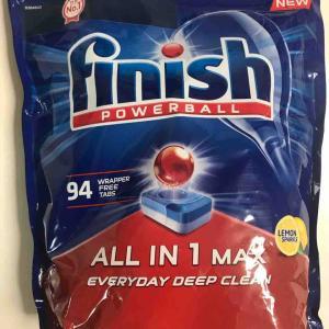 コストコ新商品のfinishパワーボールの洗浄力に感動!