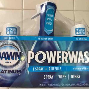 コストコオンライン限定DAWNスプレーは擦らずお皿洗いできておすすめ!アメリカ売上No.1の実力派ブランド