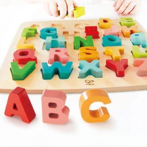 【徹底レビュー】Hape(ハペ) アルファベットパズルで遊んでみた