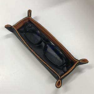 【レザークラフト】メガネ専用トレイ 型紙配布