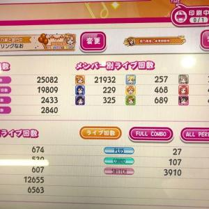 【アケフェス】2021年5月末時点のプレイ回数メモ