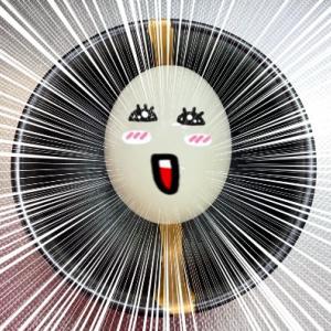 卵の殻むき