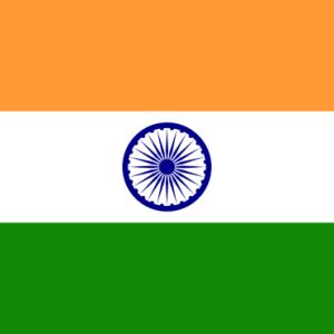 【भारत】インドの国旗(※動画あり)