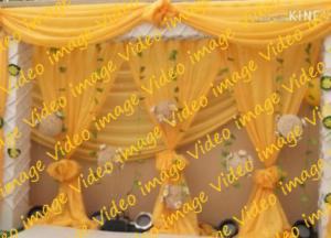【भारत】高砂とか会場の装飾@インド