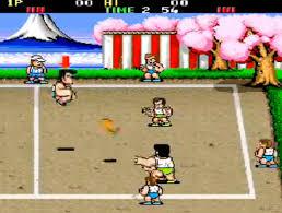 kuniokun dodgeball
