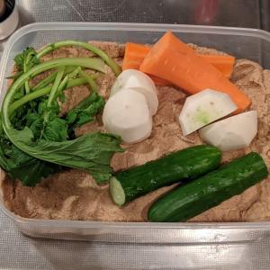 休日のお昼ごはん『親子丼』&初めて『ぬか漬け』に挑戦