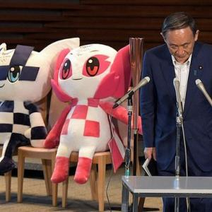 【東京3000人】菅首相「人流減っている。東京五輪、中止しない。」=トライアスロンなど沿道には大勢の観客