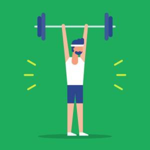 筋トレの正しい頻度ってどれくらい?効果的に筋肥大させるためのポイントを解説