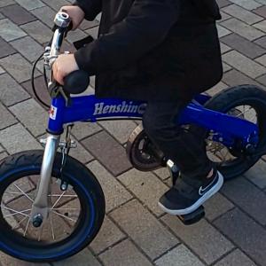 へんしんバイク(子供用自転車)は飽きずに乗り続けられる!