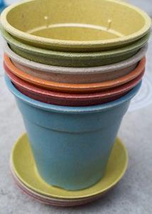 ハーブの自家栽培にピッタリなカラフルでお洒落な植木鉢「ecoforms」エコフォームズ