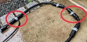 タカギ自動水やりシステムに分岐ジョイント追加してスプリンクラーを増設しました。4mmジョイントにホースが固すぎて刺さらない問題の解決策も紹介します。