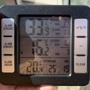 ビニール温室の高温に注意