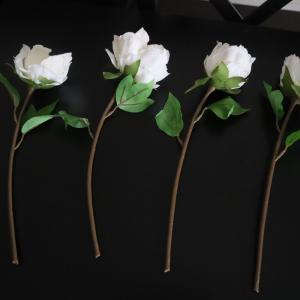 イケアの造花と花瓶を飾りました。せとちよさんちのリビングダイニング公開。