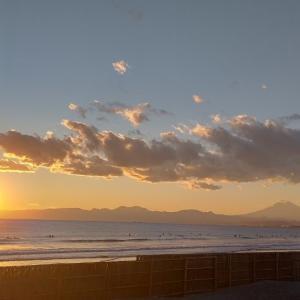 冬の富士山を見納め