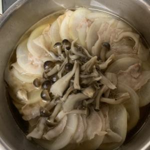 大根のミルフィーユ鍋