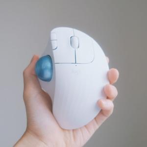 【logicool】初めてのトラックボールマウスにおすすめ!Bluetooth対応のERGO M575をレビュー