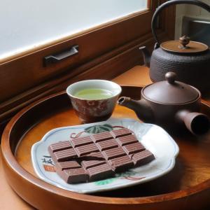 トレーダージョーズのチョコ アーモンドミルク使用のオーガニックチョコ