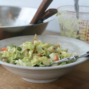 パクチー入れて、メキシカン風簡単チョップドサラダ