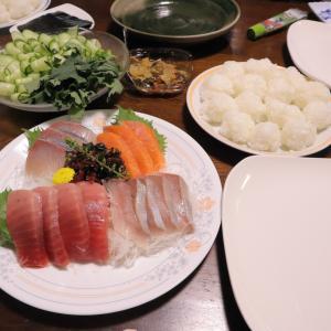 家族で手巻き寿司は、簡単にちょうどよくやりましょう