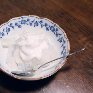 3つの具材で5分で作るココナッツミルクの和風デザート